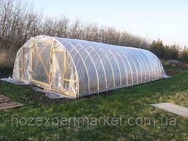 Плівка біла теплична, 120мкм, 3м/50м. (прозора, поліетиленова, парникова), фото 3
