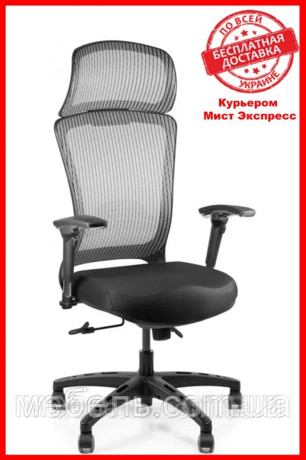 Кресло для врача Barsky BS-05 Style Grey PL, сеточное кресло, серый