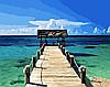 "Картина по номерам. Brushme "" Карибы "" GX21744"