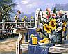 """Картина по номерам. Brushme """" Утро в саду """" GX4660"""