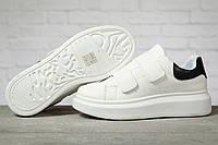 Кроссовки женские 17171 MkQueen, белые МакКвин Наличие размеров в описании