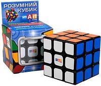 Кубик рубика 3х3х3 Черный Флюо Smart Cube SC321, фото 1