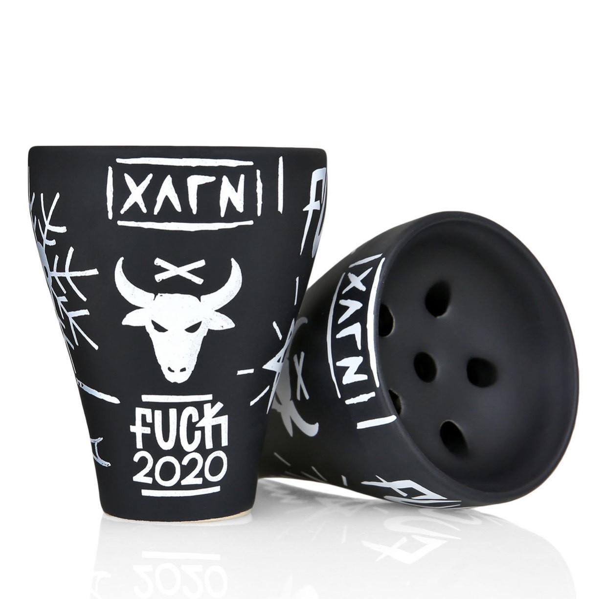 Чаша для кальяна Oblako x Hooligan Fuck 2020 Edition (Облако и Хулиган)