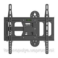 Кронштейн поворотний для телевізора 23 - 55 VM LT09S кріплення настінне Чорний (vol-565)