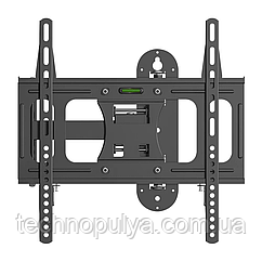 Кронштейн поворотный для телевизора 23- 55 VM LT09S крепление настенное Черный (vol-565)