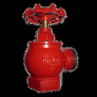 Вентиль пожарный ДУ-50 чугунный/угловой (вн/нар)