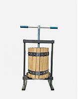 Пресс для отжима сока Вилен 25 литров дубовый корпус