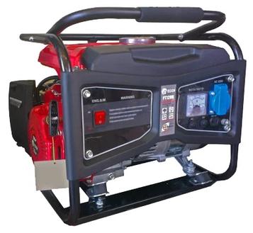 Бензиновый электрогенератор Edon PT-1000L 1 kW медная обмотка