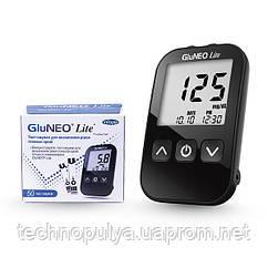 Глюкометр GluNeo Lite (ГлюНео Лайт) с 60 тест-полосками (MM00241)