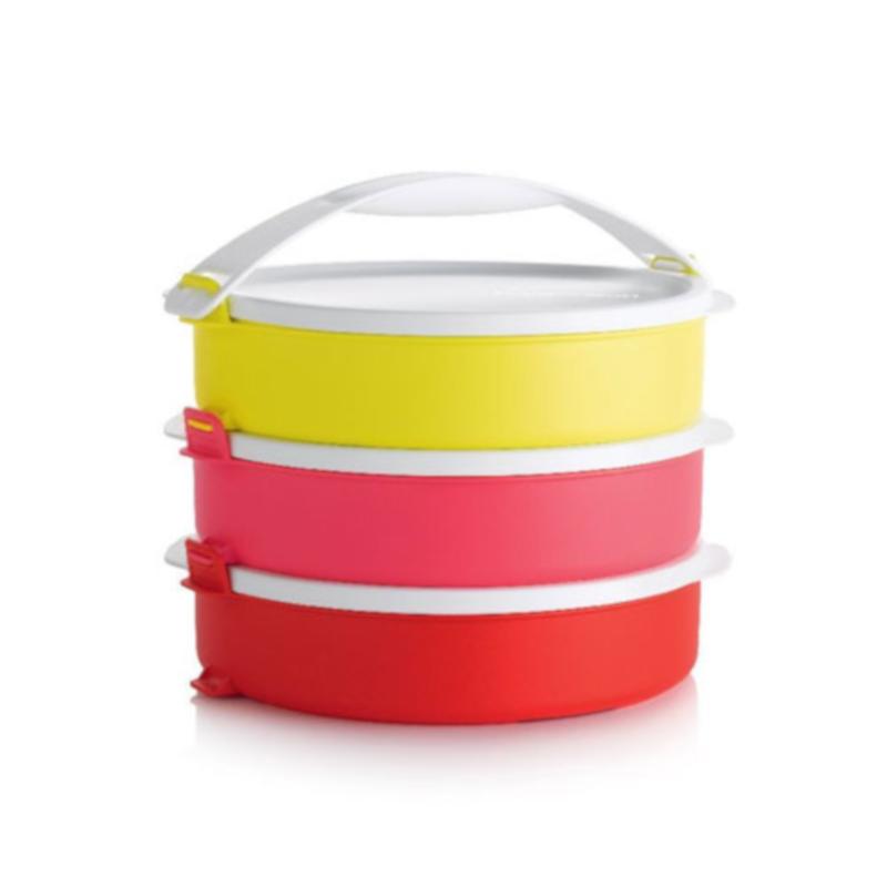 Набор контейнеров Tupperware Парад круглые с ручкой (3 шт по 880 мл) (РП2193)