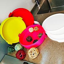 Набор контейнеров Tupperware Парад круглые с ручкой (3 шт по 880 мл) (РП2193), фото 3