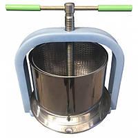 Пресс для отжима сока Лан 10 литров из нержавеющей стали