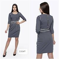 Оптом серое платье, фото 1