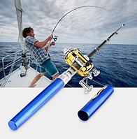 Портативная карманная телескопическая удочка Fishing Rod in Pen Case