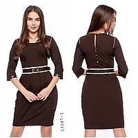 Оптом платье коричневое