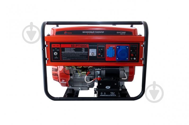Бензиновый электрогенератор Edon ED-PT7000С 7 kW медная обмотка