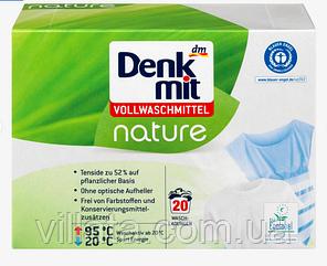 Стиральный порошок Denkmit Vollwaschmittel Pulver Nature, 20 Wl
