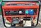Бензиновый электрогенератор Edon ED-PT8000С 8 kW медная обмотка, фото 2