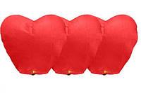 Летающие небесные Китайские фонарики 10шт сердца и купола, фото 1