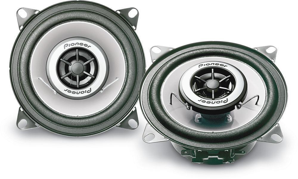 """Автомобильная акустика Pioneer TS-G1042R 120W автомобильные колонки 4"""", 10 см"""