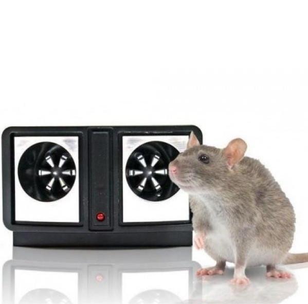 Ультразвуковой отпугиватель грызунов Dual sonic, мышей, крыс, Электронный кот
