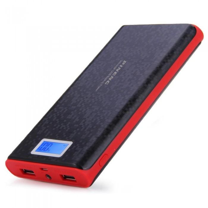 Портативное зарядное устройство Pineng PN-920 Power Bank 40000 mah с LCD дисплеем, экраном