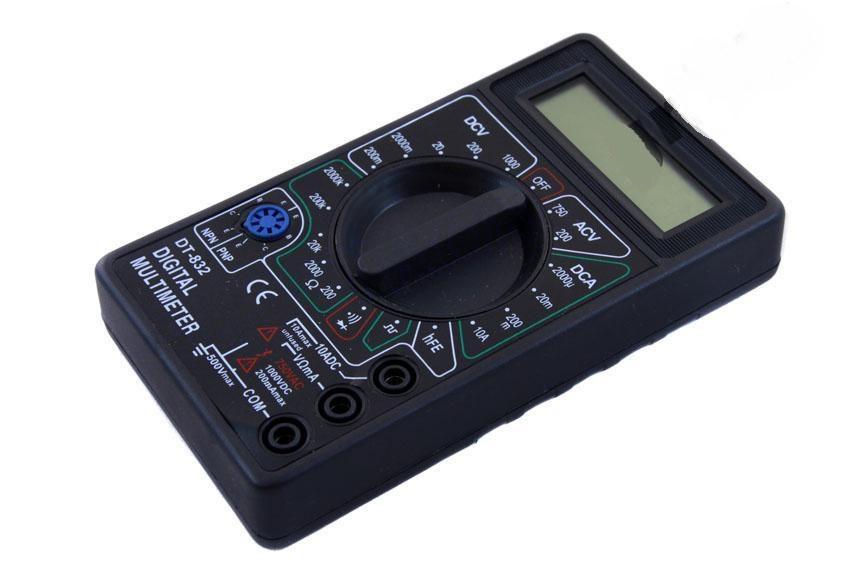Мультиметр тестер вольтметр амперметр Digital DT-832