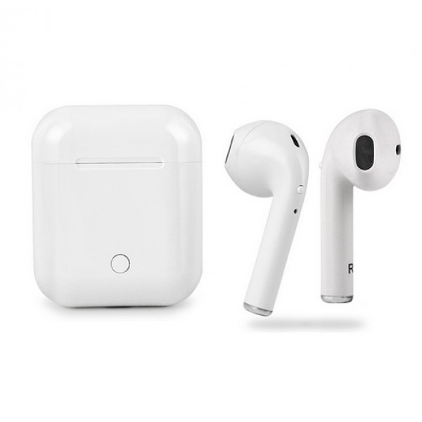 Беспроводные Bluetooth наушники Apple i8P TWS airpods Ifans White Белые Реплика!