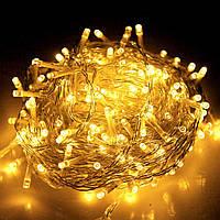 Внутренняя гирлянда Теплый белый 7 м 100 диодов 3874 светодиодная гирлянда Xmas LED 100 WW-1 7м, фото 1
