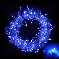 Внутренняя гирлянда Нить Синяя 28 м 400 диодов 4881 светодиодная гирлянда Xmas LED 400 B-1 28м, фото 1
