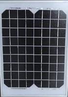 Универсальная панель UKC 10W 18V с клещами 340*230*9мм, 36x24 см
