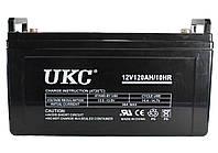 Универсальный гелевый аккумулятор GEL UKC 6-CNF-120 12V 120Ah (Аккумуляторная батарея 12В 120Ач), фото 1
