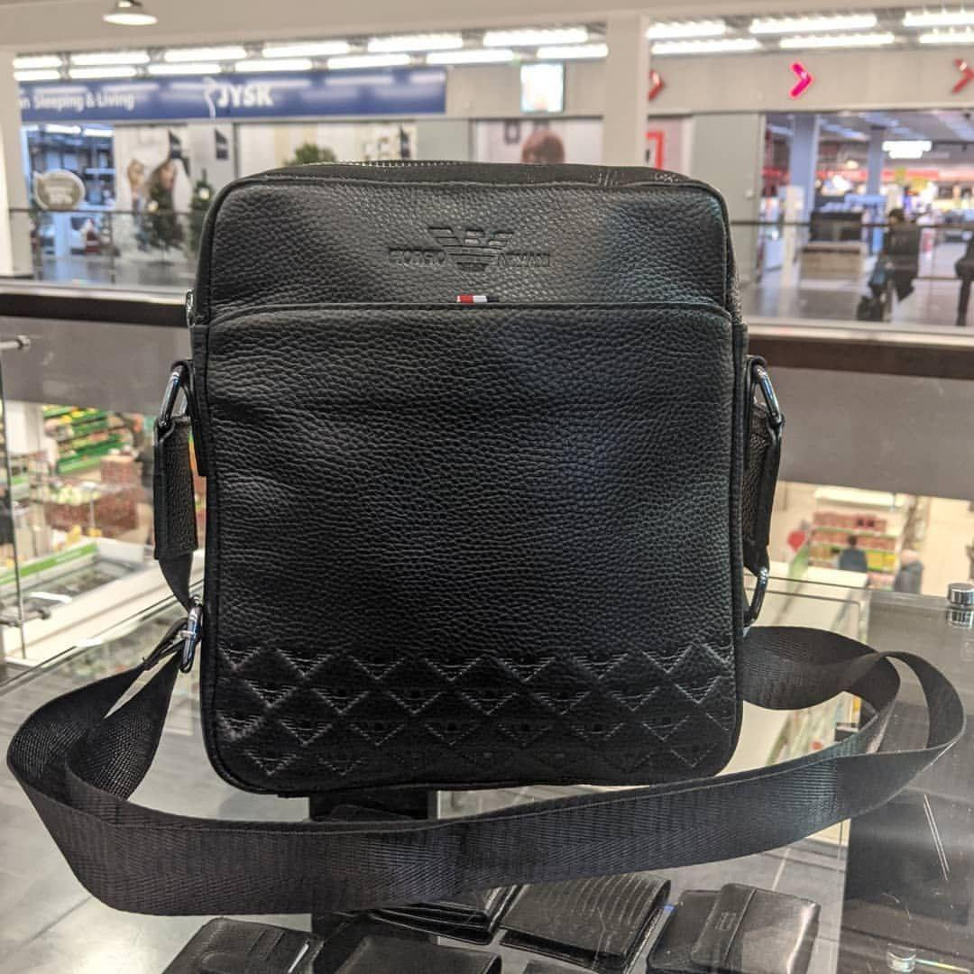 Сумка через плечо Giorgio Armani CK903 черная