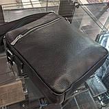 Сумка через плечо Giorgio Armani CK903 черная, фото 4