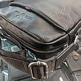 Сумка через плечо Giorgio Armani CK903 черная, фото 7