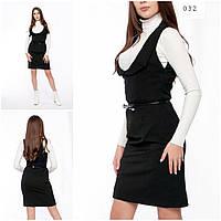 Весеннее платье черный, фото 1