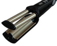 Тройная плойка волна Babyliss Pro GBR Wave Envy DT-2021 для укладки волос Бебилис Стайлер для волос волнами, фото 1