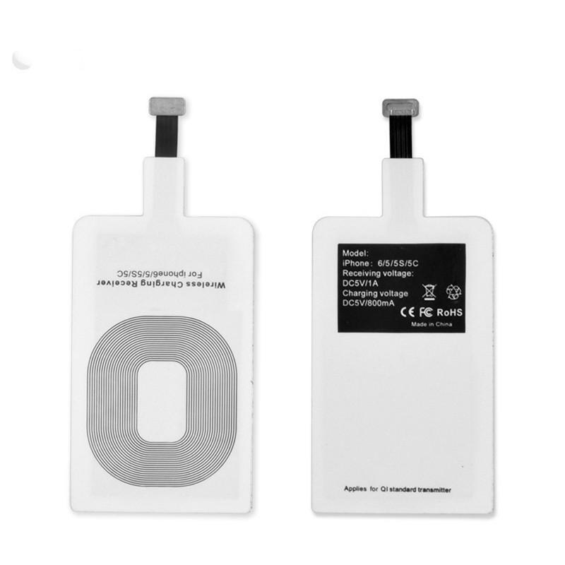 Универсальный Qi приемник для беспроводной зарядки для всех телефонов с Lightning входом Apple AR 71