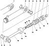 Группа 34. Управление рулевое Подгруппа 3405. Гидроцилиндр Ц50 (50x25-200)