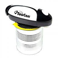 Многофункциональный автоматический консервный нож TouCan, электрическая открывалка, фото 1