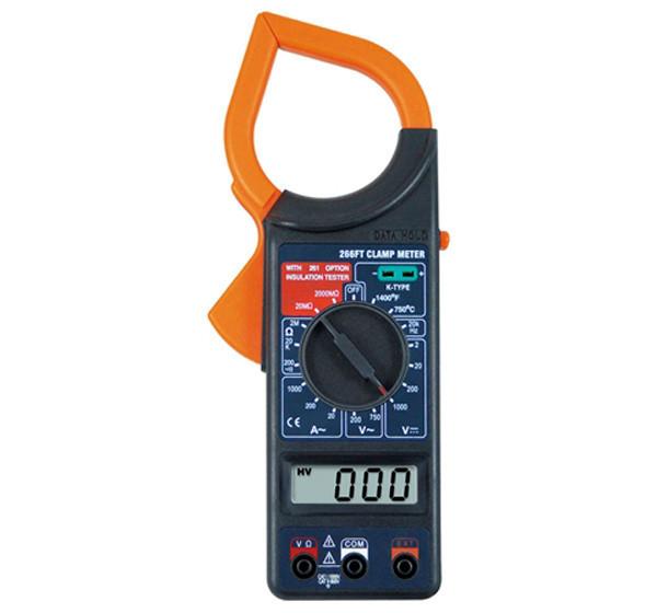 Тестер мультиметр токоизмерительные клещи Digital 266FT