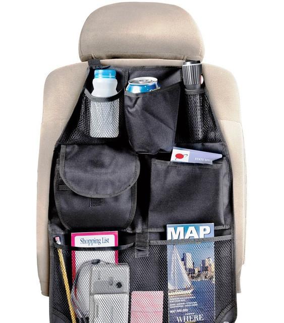 Автомобильный органайзер на спинку переднего сидения est car back seat organizer