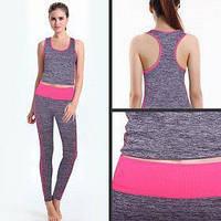 Костюм для йоги и фитнеса от Copper fit Yoga wear suit slimming, фото 1
