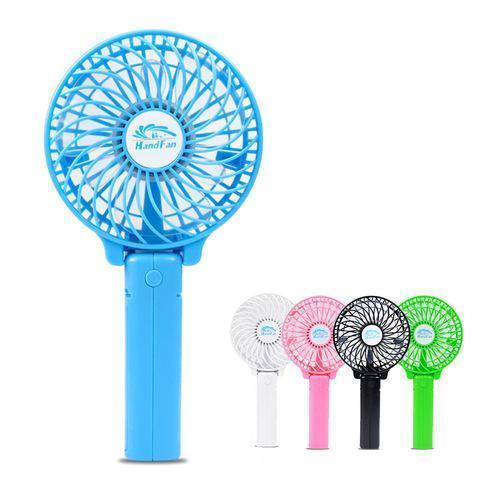 Мини ручной вентилятор Handy Mini Fan работает от аккумулятора 18650