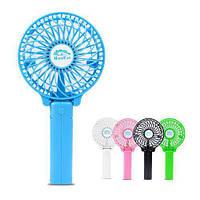 Мини ручной вентилятор Handy Mini Fan работает от аккумулятора 18650, фото 1