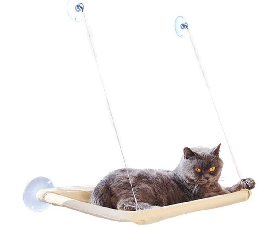 Оконная лежанка для кота, полка, кровать Sunny Seat Window Cat Bed для котов, кошек