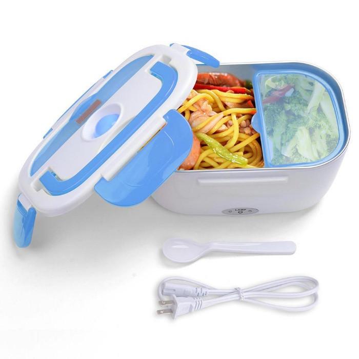 Электрический Ланч Бокс Electric lunch heater box с подогревом от сети 220v