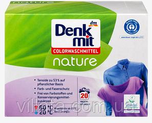 Стиральный порошок Denkmit Colorwaschmittel Pulver Nature, 20 Wl