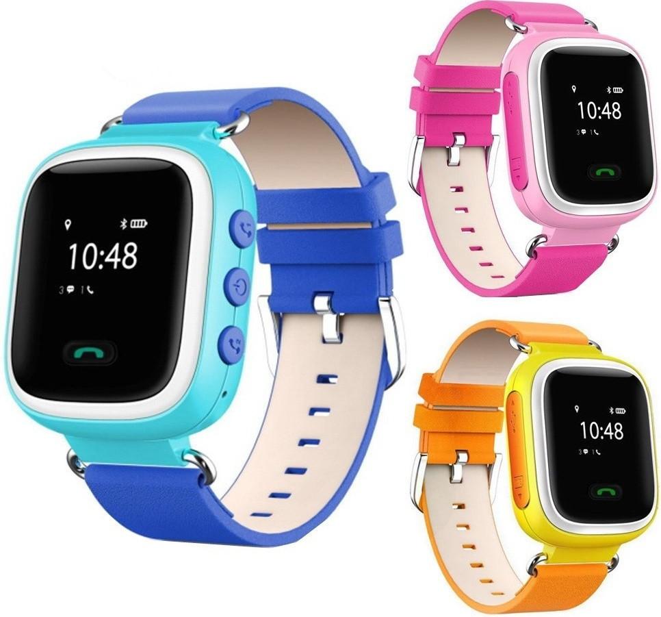 Умные детские часы Smart Baby Watch Excelvan Q60 с функцией GPS трекера