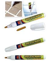 Карандаш маркер закрашивания для швов плитки Grout-Aide Grout & Tile Marker, фото 1